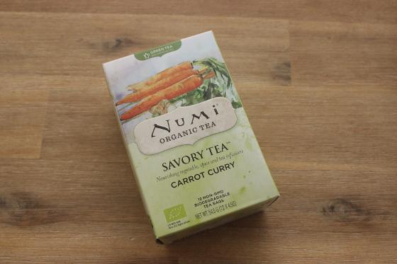 Numi Savoury Tea Carrot Curry worteltjesthee