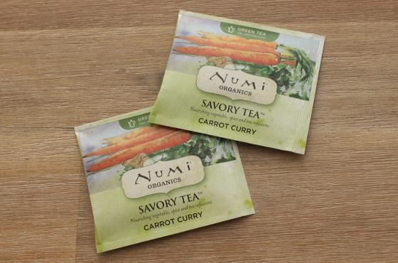 Numi Savoury Tea Carrot Curry worteltjesthee zakjes