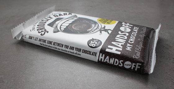 Hands Off my Chocolate seriously dark
