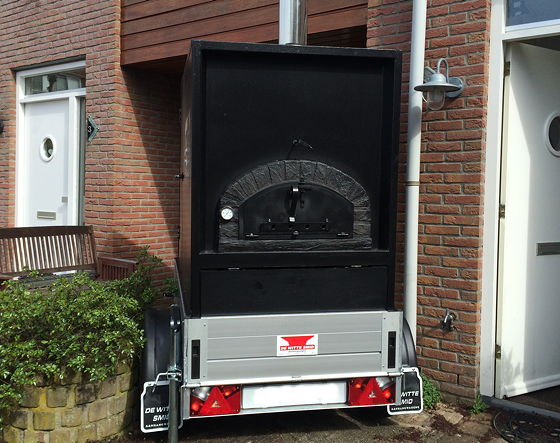 Pizza on Wheels pizzaoven
