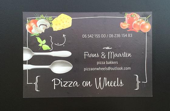 Pizza on Wheels telefoonnummer