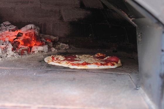 Pizza on Wheels pizza klaar