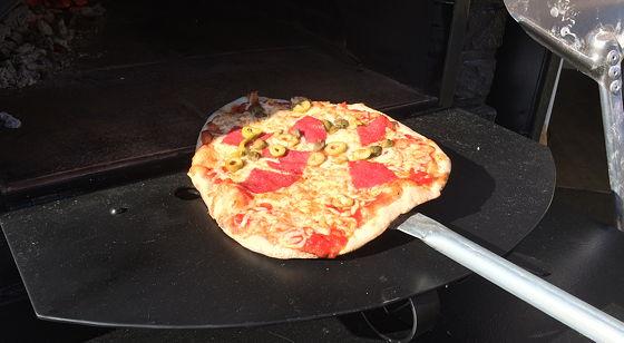Pizza on Wheels zon en pizza