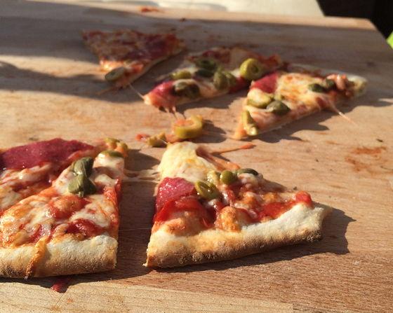 Pizza on Wheels