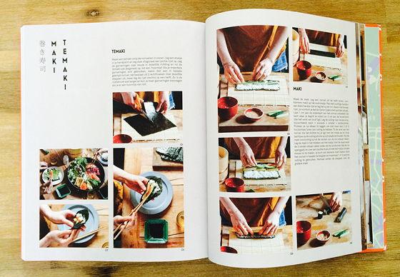 Recepten uit Tokyo sushi cursus