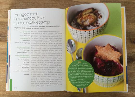 inkijkje zoet recept vegatopia het kookboek