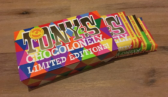 Tony's Chocolonely Limited Editions 2015 cadeauverpakking