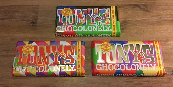 Tony's Chocolonely Limited Editions 2015 drie smaken