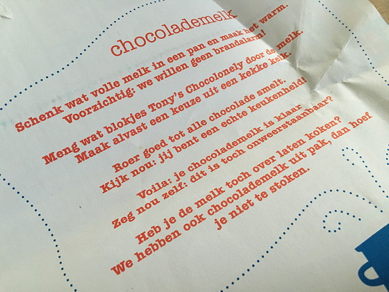 Tony's Chocolonely Letterreep met Pepernoot puur wikkel