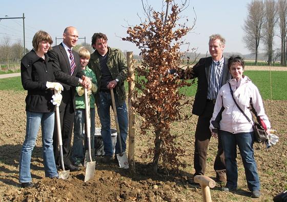 Retro Ploggen 2 April 2009: Mijn eigen bos 'Brutselbos'