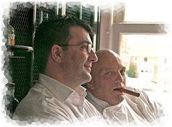 Herman den Blijker en David Crouwel